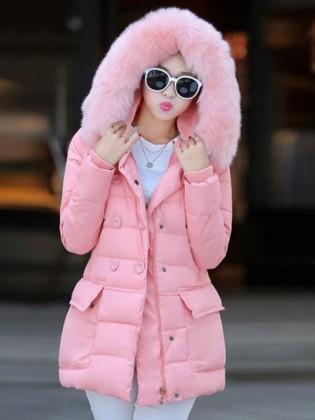 Áo phao nữ Hàn Quốc cao cấp túi hộp thời trang TA104