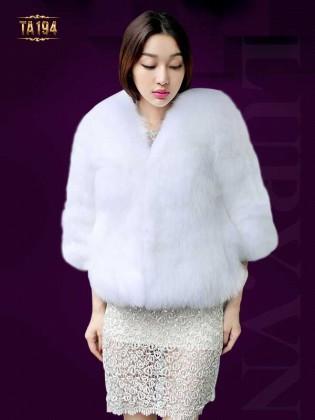 Áo khoác lông chồn nhập khẩu cao cấp  TA194