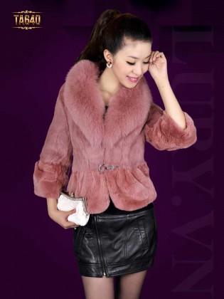 Áo khoác lông chồn cao cấp TA640