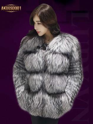 Áo lông chồn cao cấp nhập khẩu AKDDS0001