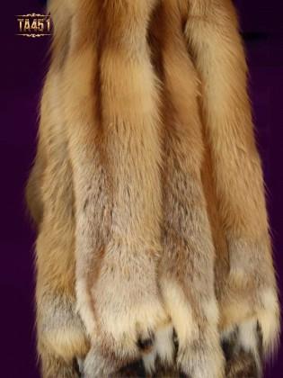 Khăn choàng lông chồn nguyên con cao cấp TA451