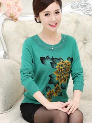 Áo len trung niên Hàn Quốc TA296