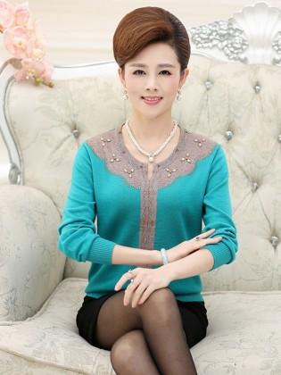 Áo len trung niên Hàn Quốc TA297