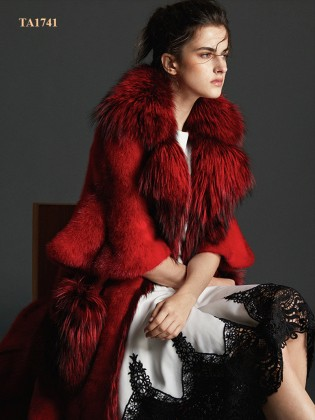 [New 2020]Áo khoác lông  TA1741 cao cấp mới từ chất liệu lông thú tự nhiên